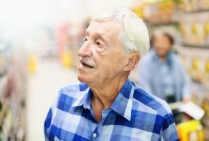 Old Man in Store