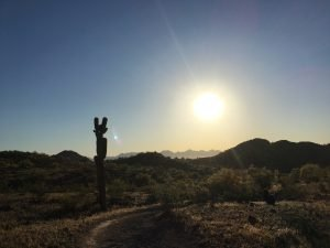 Sunrise Hike with SCAN Tribe in Phoenix 2019