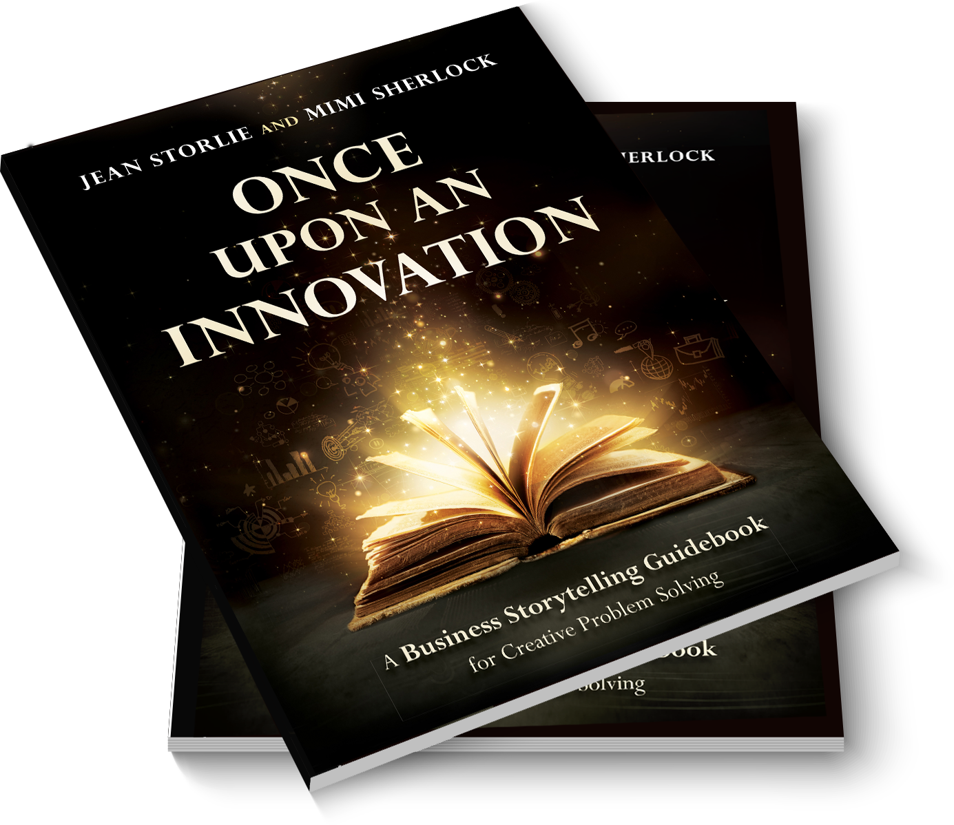 Once Upon an Innovation book stack