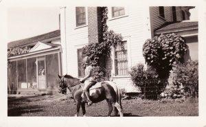 Sprague Farm Life in 30s_Pony Express